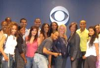 Marie McKinney Program Dir of NEC Rep meets with CBS VP Casting, Fern Orenstein and CBS SVP Diversity, Josie Thomas,